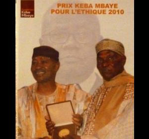 CD 1ère Edition Prix Kéba Mbaye : 2 500 F CFA