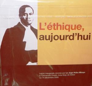 Livret + CD l'Ethique, Aujourd'hui : 5 000 F CFA