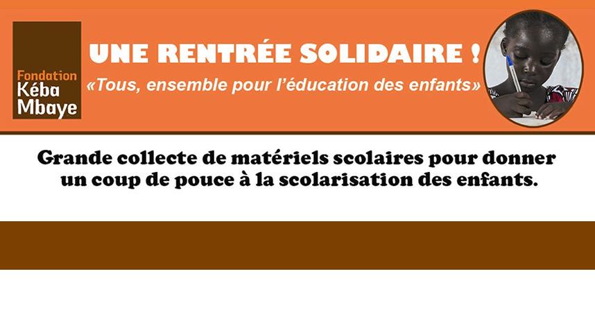 FKM_Slide_Grande_Collecte_pour_achat_de_Fournitures_scolaires